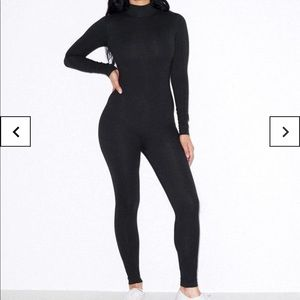 American Apparel Other - American apparel black turtleneck catsuit NWOT